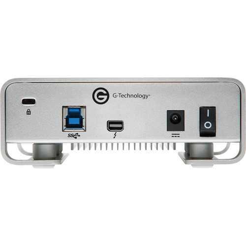 G-Drive Thunderbolt & USB 3 port 6TB