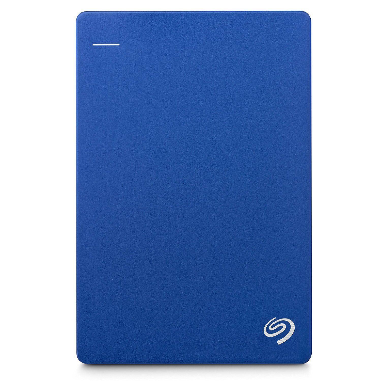 Seagate Backup Plus Slim Portable Drive 1TB For PC/Mac Blue