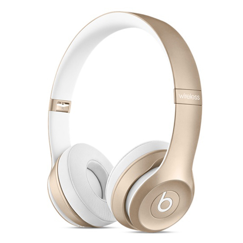 Beats Solo2 Wireless Headphones - Gold