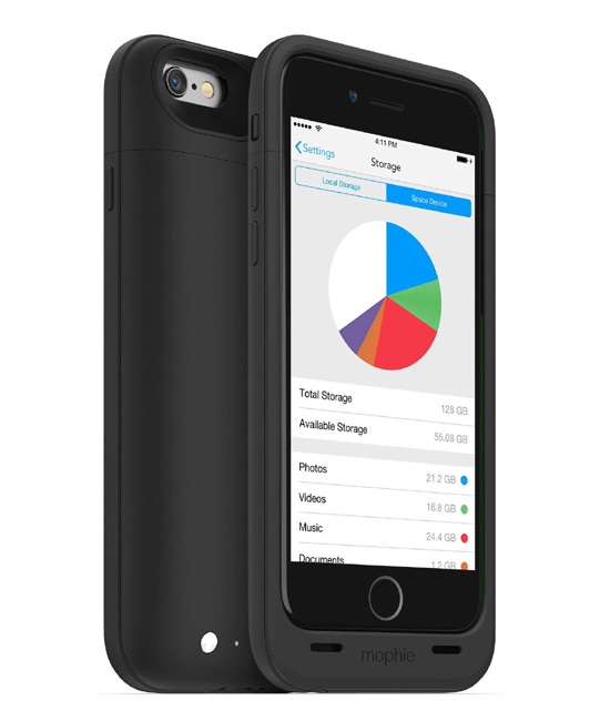 Mophie Space Pack 100 Percent 64GB for iPhone 6 | Tradeline Egypt Apple