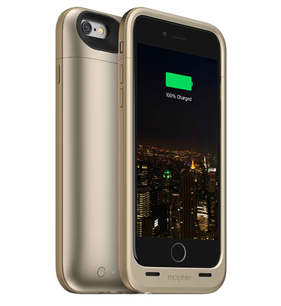 Mophie Juice Pack Plus 120 Percent for iPhone 6 Gold | Tradeline Egypt Apple