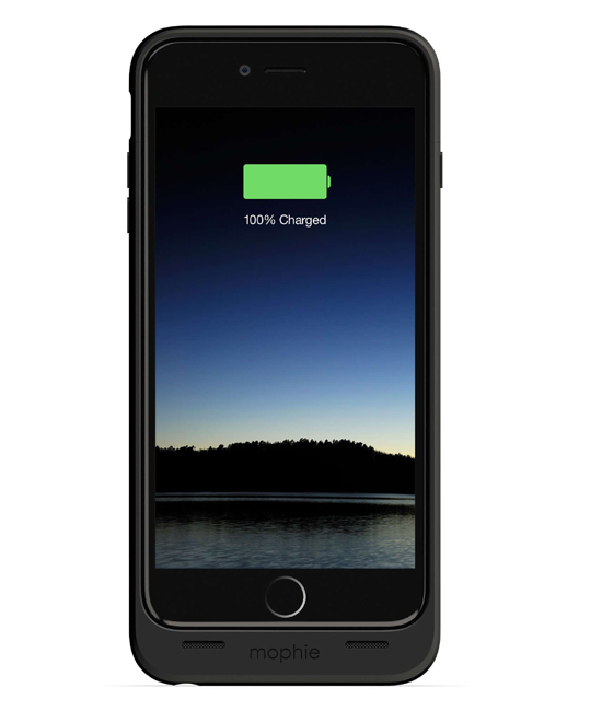 Mophie Juice Pack 60 Percent for iPhone 6 Plus Black | Tradeline Egypt Apple
