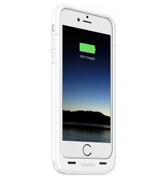 Mophie Juice Pack 60 Percent for iPhone 6 Plus White
