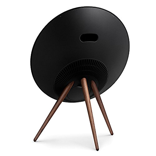 BeoPlay A9 Black With Walnut legs