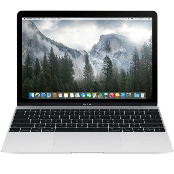 MacBook 12 -inch Retina Core M 1.1GHz/8GB/256GB/Intel HD 5300/Silver | Tradeline Egypt Apple