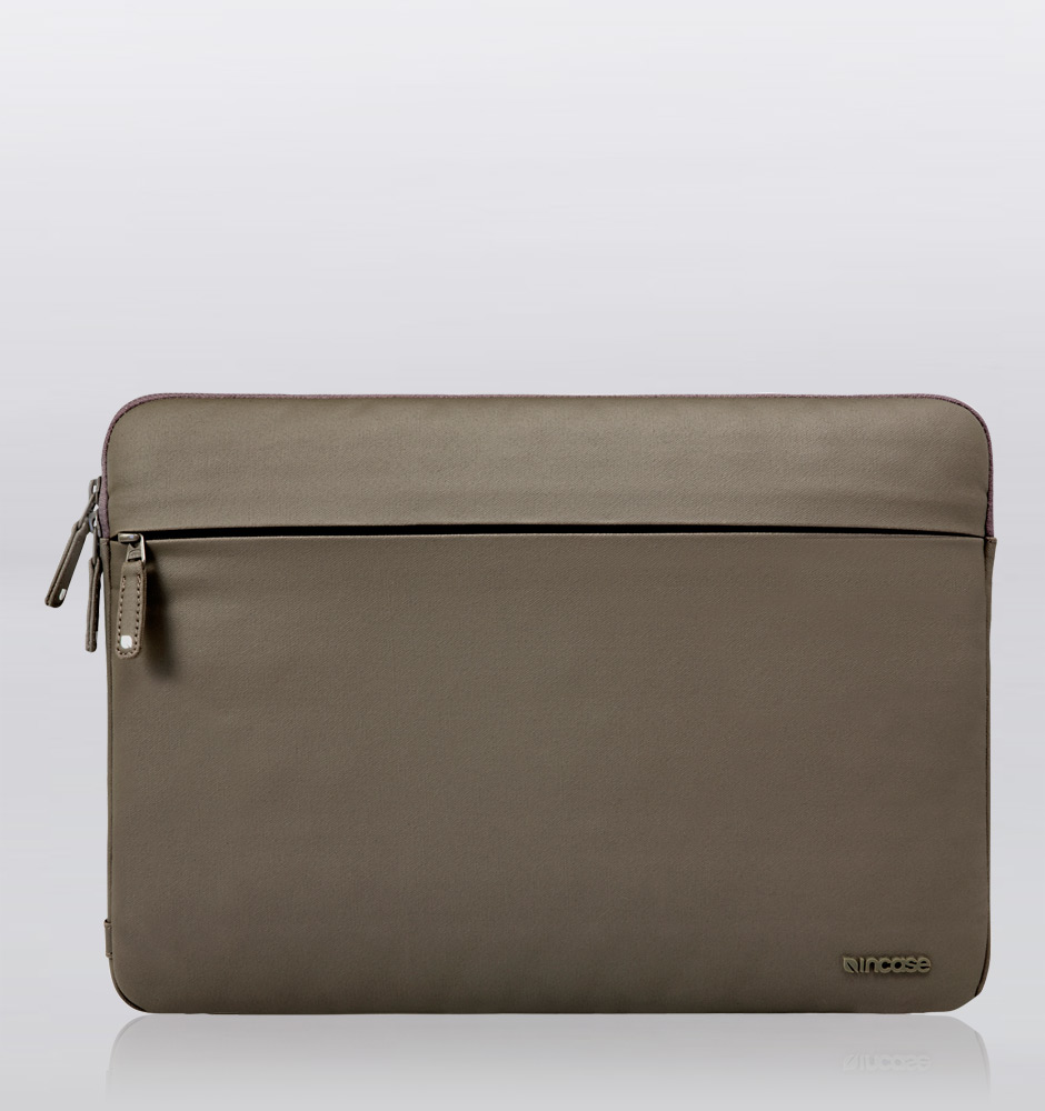 "Incase Coated canvas Sleeve For MacBook Pro 13"" Taupe 