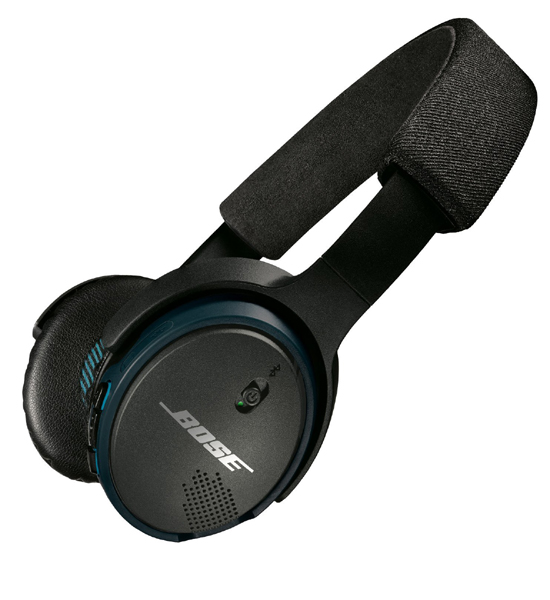Bose Soundlink On Ear Headphones Black/Blue | Tradeline Egypt Apple