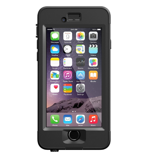 Lifeproof NuuD Black For iPhone 6 | Tradeline Egypt Apple