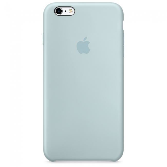 Apple iPhone 6/6s Silicone Case Turquoise   Tradeline Egypt Apple