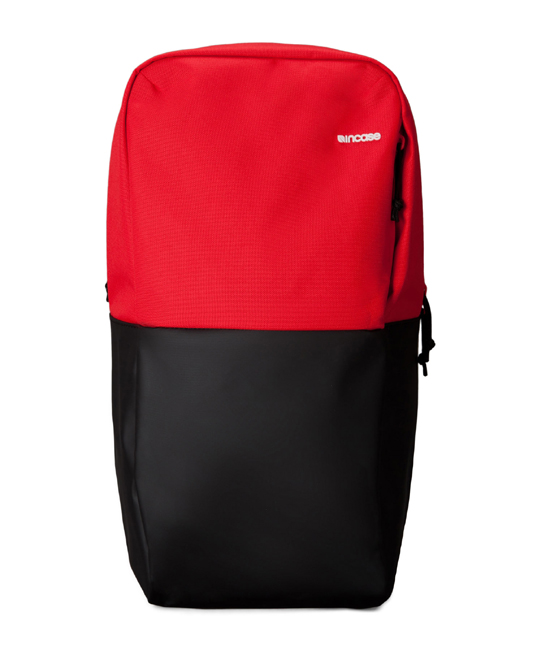 """Incase Staple Backpack fits up to MacBook Pro 15"""" Black/Red"""