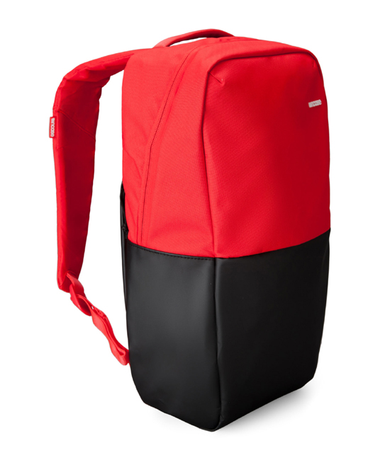 """Incase Staple Backpack fits up to MacBook Pro 15"""" Black/Red 