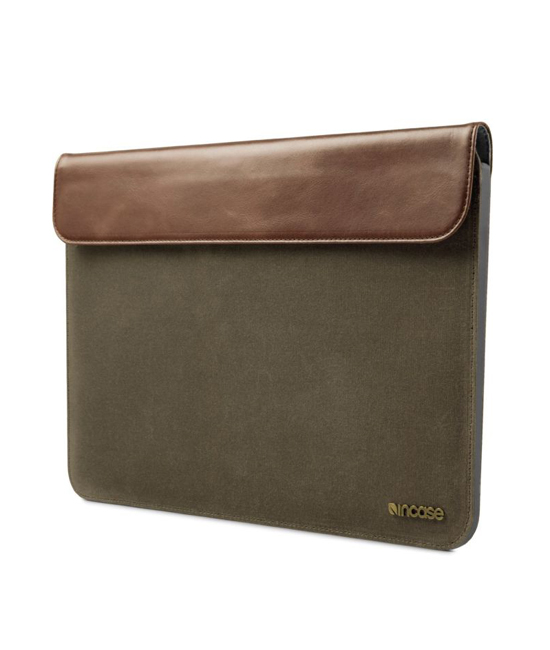 "Incase Pathway Slip Sleeve For MacBook Air 13"" Olive Canvas 