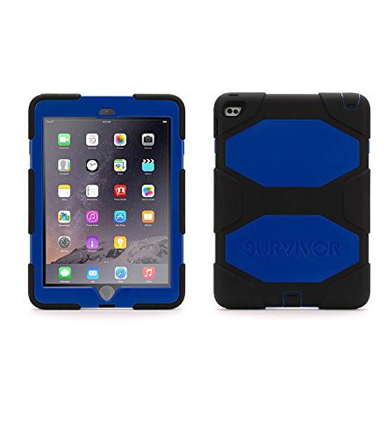 Griffin Survivor iPad Air 2 Black/Blue