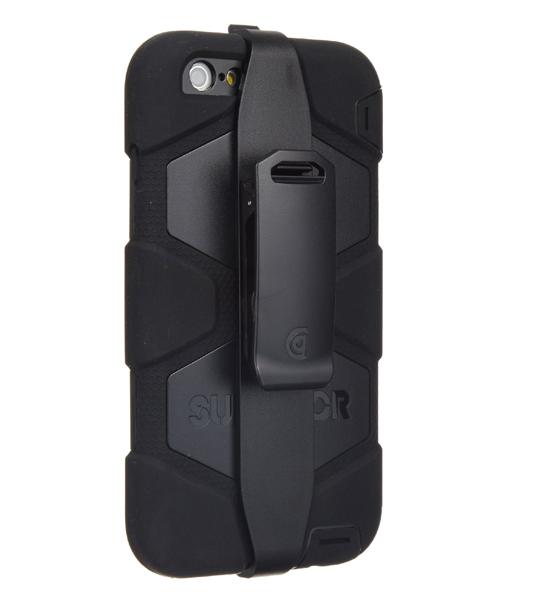 Griffin Survivor iPhone 6 Plus Black | Tradeline Egypt Apple
