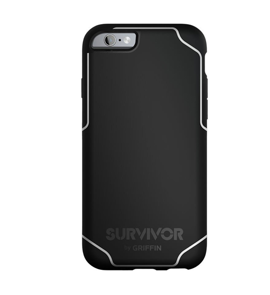 Griffin Survivor Journey iPhone 6/6S Plus White/Black | Tradeline Egypt Apple