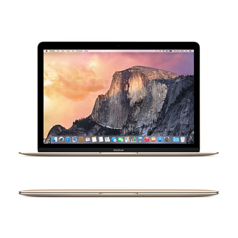 MacBook 12 -inch Retina Core M 1.1GHz/8GB/256GB/Intel HD 5300/Gold