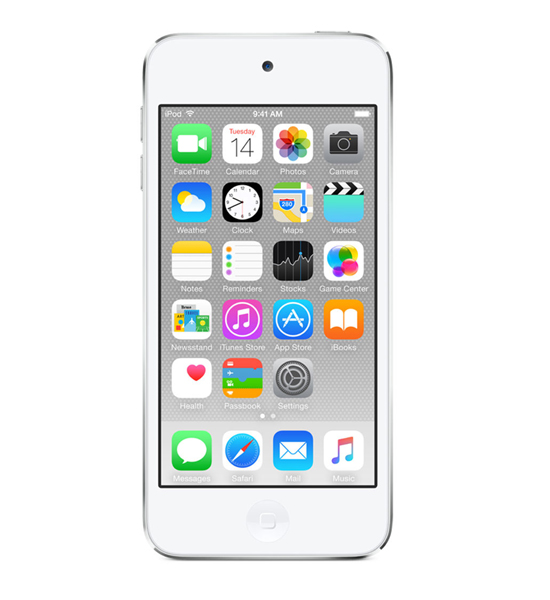 Apple iPod Touch 16GB - Silver | Tradeline Egypt Apple