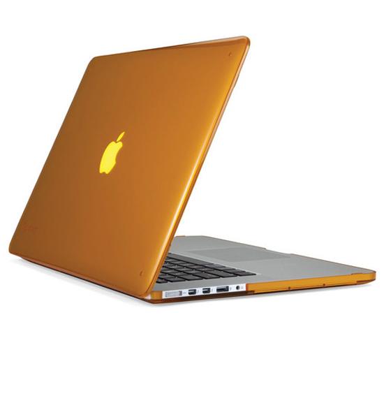 "Speck MacBook Pro 15"" with Retina Display SeeThru Butternut Squash | Tradeline Egypt Apple"