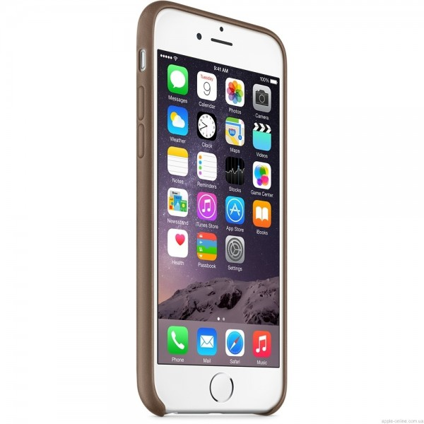 Apple iPhone 6 Leather Case Olive Brown