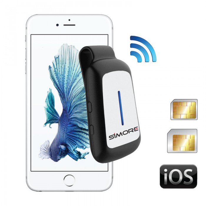 Blueclip Dual Sim Adapter - Bluetooth | Tradeline Egypt Apple
