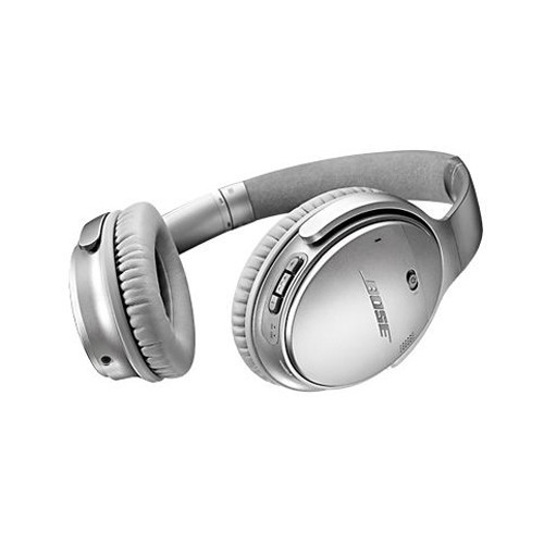 Bose QuietComfort 35 Silver - Wireless Headphones