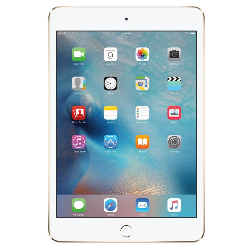 iPad mini 4 Wi-Fi Cell 128GB Gold   Tradeline Egypt Apple