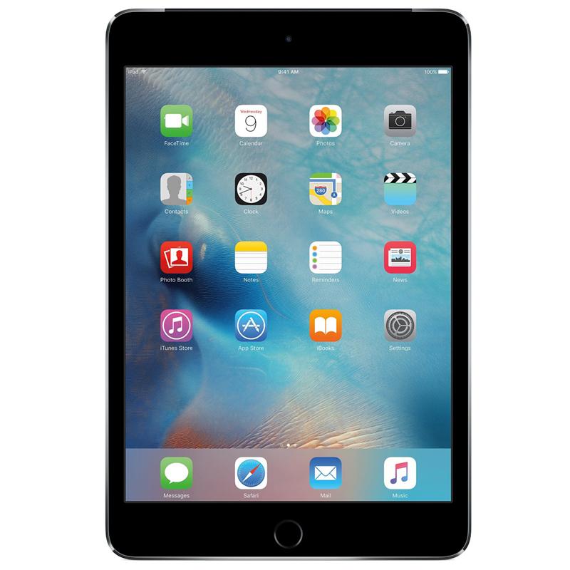 iPad mini 4 Wi-Fi Cell 128GB Silver   Tradeline Egypt Apple