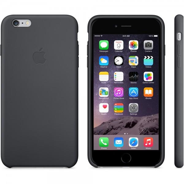 Apple iPhone 6/6s Plus Silicone Case Black
