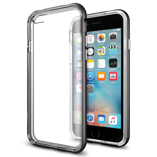 Spigen Neo Hybrid EX GunMetal iPhone 6/6S | Tradeline Egypt Apple