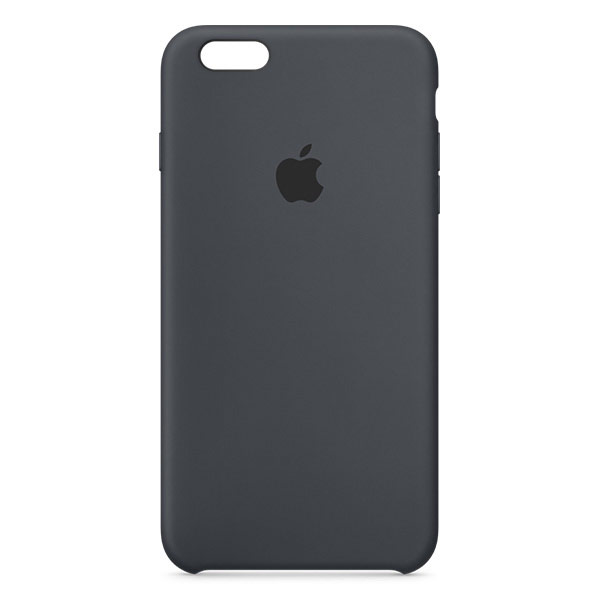 Apple iPhone 6/6s Plus Silicone Case Charcoal Gray | Tradeline Egypt Apple