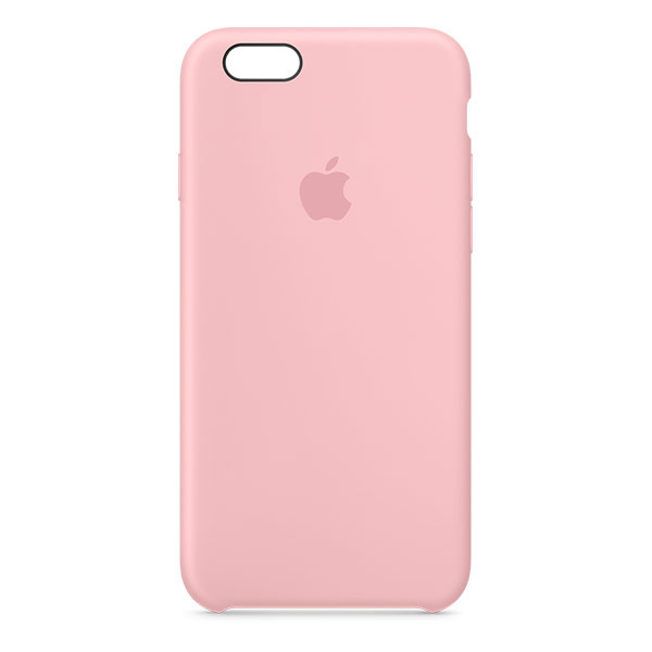 Apple iPhone 6/6s Silicone Case Pink | Tradeline Egypt Apple