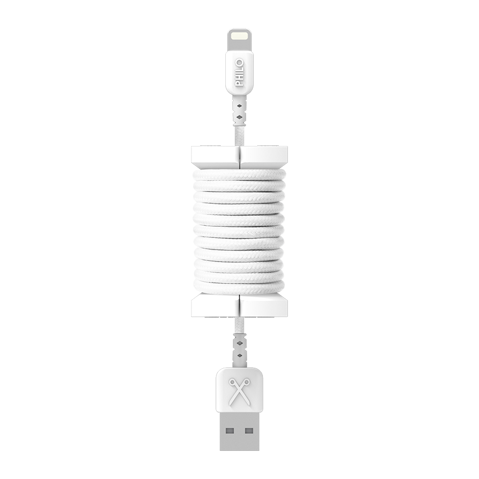 PHILO Spool Cable White | Tradeline Egypt Apple