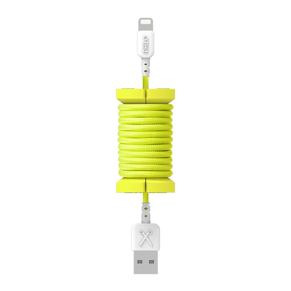 PHILO Spool Cable Neon Yellow | Tradeline Egypt Apple